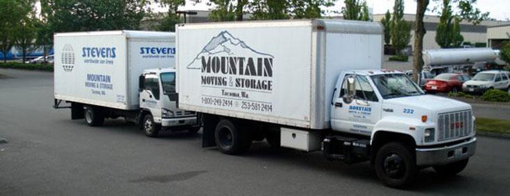 Seattle and Tacoma Moving Trucks